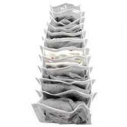 Colmeia Organizadora com viés de Gorgorão Branco 13cm com 11 divisões