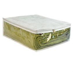 Protetor em TNT Branco para Edredom ou Roupa de Cama Tamanho 1