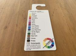 Kit Paleta de cores com 5