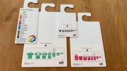 KIT PROMOCIONAL com 3 Gabaritos para dobras e 5 Paletas de cores