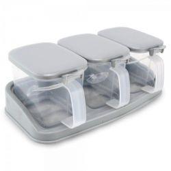 Porta Condimentos kit com 3