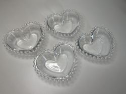 KIT com 4 Bowls Coração Pequenos Linha Pearl ref 28375