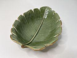 Prato Banana Leaf Ceramica ref. 4331