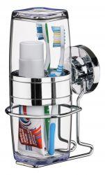 Suporte Praticita para Escova e Creme Dental Ref. 4015 (ventosa extra forte)